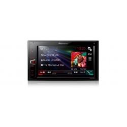 Receiver auto 6,2¨touchscreen cu USB si control i-Pod, Pioneer MVH-AV270BT