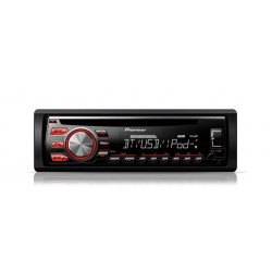 CD player auto cu RDS tuner, Bluetooth, USB, Aux-In, control iPod/iPhone si Android Media Access (Single DIN), Pioneer DEH-4700B