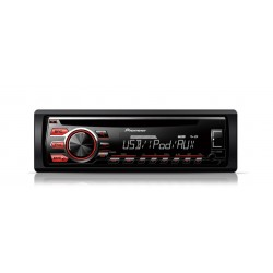 CD player auto cu RDS tuner, USB, Aux-in, control iPod/iPhone, Android Media Access si FLAC audio files (Single DIN), Pioneer DE