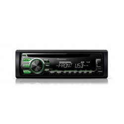 CD player auto cu RDS tuner, USB, Aux-In, Android Media Access si FLAC audio files (Single DIN), Pioneer DEH-1700UBG