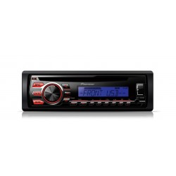 CD player auto cu RDS tuner, USB, Aux-In, Android Media Access si FLAC audio files (Single DIN), Pioneer DEH-1700UBB