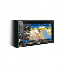 Sistem multimedia 2-DIN cu navigatie Alpine INE-W990BT