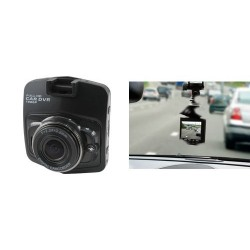 Camera auto pentru inregistrare trafic, neagra, Sal Home DVR FHD1/BK