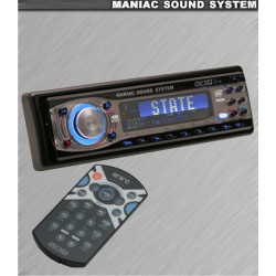 Radio/CD player Mnc Maniac State 39706