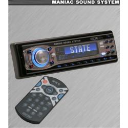 Radio/CD player Mnc Maniac State 39706