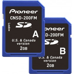 Map and Operating Software Update Pioneer CNSD-200FM