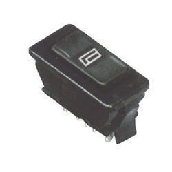 Comutator 12V, 2 circuite, pentru lift geam auto Sal AKV 62