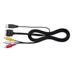 Cablu conectare i-Pod/i-Phone la composite Pioneer CA-IW.230V