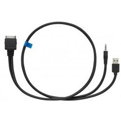 Cablu de mare viteza pentru conectare directa la iPod (2 fire) KCA-IP22F KENWOOD