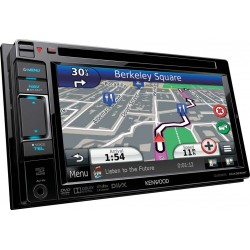 "Sistem de navigatie 6.1"" WVGA, 2DIN, Bluetooth Built-in & Partial Detachable Panel DNX 5230BT Kenwood"