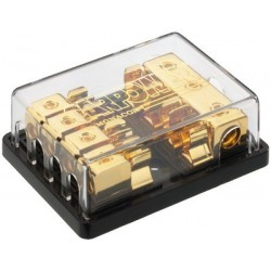 4-way fuse holder/distribuitor Carpower CPD-4GF