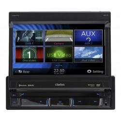 """Sistem DVD multimedia 1-DIN, cu panou tactil de 7"""" si navigatie incorporata, Clarion NZ-502E"""