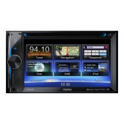 """Sistem DVD multimedia, 2-DIN cu navigatie integrata si ecran de 6,2"""", Clarion NX-502E"""