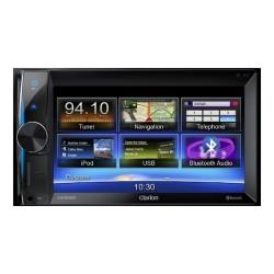 """Sistem DVD multimedia, 2-DIN cu navigatie integrata si ecran de 6,2"""", Clarion NX-302E"""