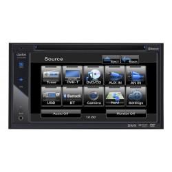 """Sistem DVD multimedia, 2-DIN cu ecran de 6,2"""" de inalta rezolutie, Clarion VX-402E"""