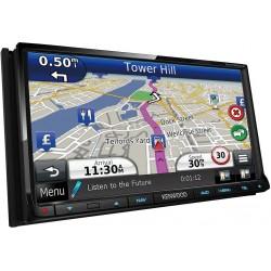 "Sistem de navigatie 7.0"" WVGA cu Bluetooth & DAB+ tuner incorporat, Kenwood DNX-7250DAB"