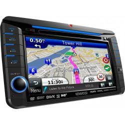 "Sistems de navigatie 7.0"" WVGA cu DAB tuner incorporat pentru VW, Skoda & Seat, Kenwood DNX-525DAB"