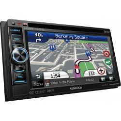 "Sistem de navigatie 6.1"" WVGA cu DAB tuner incorporat, Kenwood DNX-4250DAB"