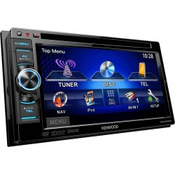 "DVD receiver 6.1"" WVGA cu bluetooth incorporat, Kenwood DDX-4025BT"