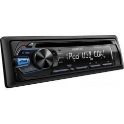 CD player auto cu USB, control i-Pod/i-Phone si tasta iluminare albastru, Kenwood KDC-261UB