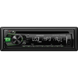CD player auto cu USB si tasta iluminare verde, Kenwood KDC-161UG