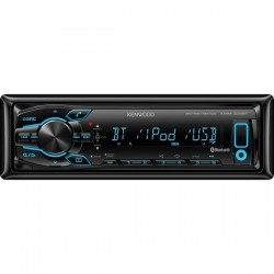 Radio player auto fara CD, cu USB, bluetooth si microfon extern inclus, Kenwood KMM-302BT (DOP only)