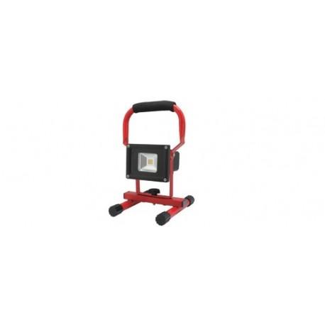 Reflector LED portabil, resarjabil, 10W, comutator cu 2 pozitii, Sal 8106H