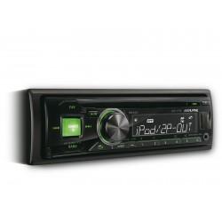 CD player auto cu USB si control i-Pod, iluminare verde, Alpine CDE-171R