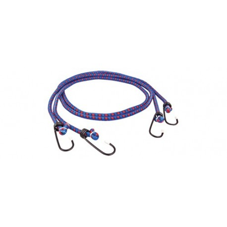 Cablu elastic fixare bagaje, 2x80 cm, carlige din otel, Sal 90410