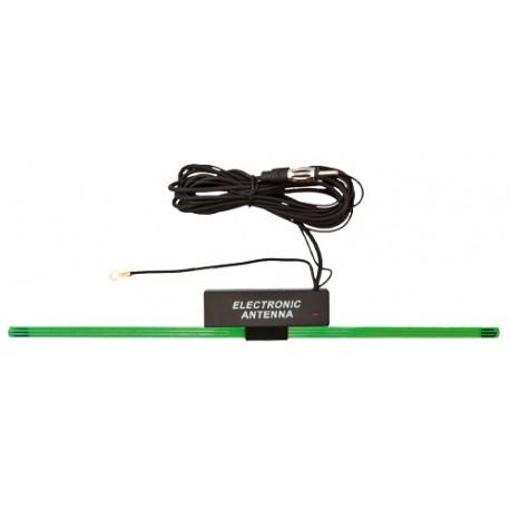Antena auto, 34 cm, interna, cu amplificator, Sal 91110