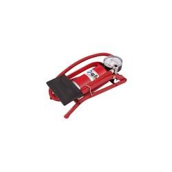 Pompa cu pedala, cu manometru, 1+2 adaptoare, Sal 90717