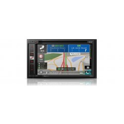 Sistem de navigatie AV high-end cu 6.2-inch touchscreen, Apple CarPlay, Bluetooth, CD/DVD and DAB radio, Pioneer AVIC-F970DAB