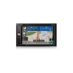 Sistem de navigatie AV high-end cu 6.2-inch touchscreen, Apple CarPlay, Bluetooth, CD/DVD and FM radio, Pioneer AVIC-F970BT